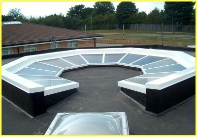 Kwik-Glaze, Custom Designed, Rooflight.