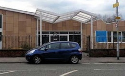 Custom Designed, WeatherShield, Polycarbonate Canopy.