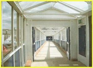 Weathershield, Custom Designed, Covered Walkway (Internal)