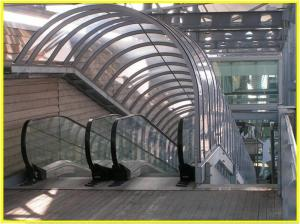 Weathershield, Custom Designed, Moving Walkway Cover (Internal)