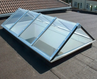 UltraLight Max Polycarbonate Triangular Rooflight