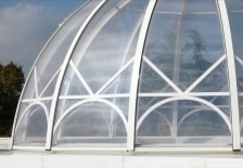 UltraLight Max Dome with Decorative Metalwork